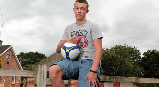 Daniel Wright had a promising career with English Premier League club Wolves ended when he was diagnosed with an irregular heartbeat