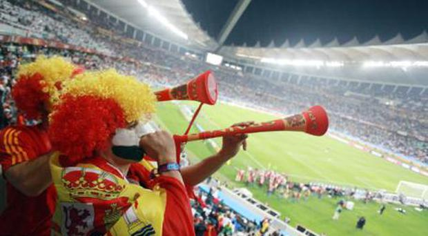 <b>VUVUZELAS </b><br/> Love them or hate them, the sound of the blaring plastic horns provided a lasting memory from this World Cup in South Africa. Television viewers in particular found the noise intrusive - like the drone of a thousand angry hornets. <br/> In South Africa itself they appeared a colourful and harmless - if occasionally ear-splitting - addition to the football world.