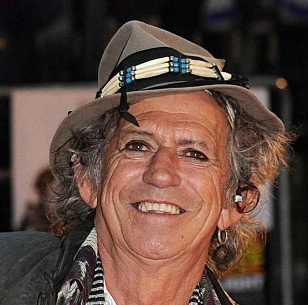 The wife of Rolling Stone Keith Richards has beaten cancer