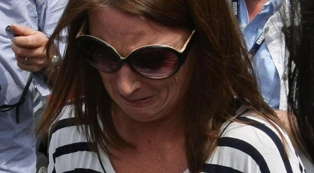 Pauline Koupparis, the mother of two twin baby girls who were mauled by a fox