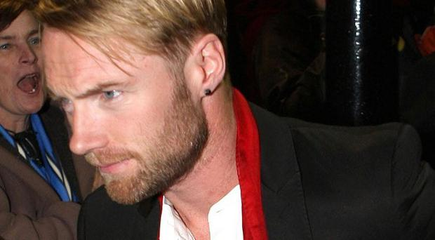Ronan Keating admitted to fans that he's been having a tough time