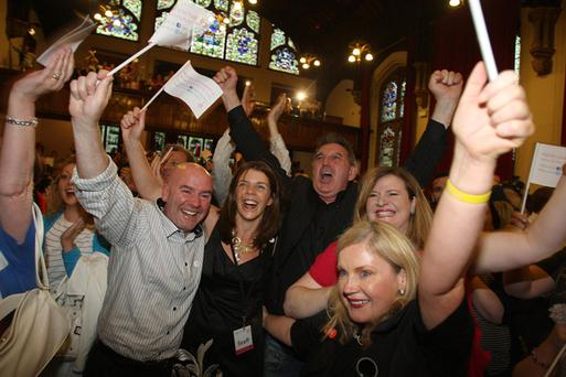Celebrations in Derry as it was announced that it is to be the first UK City of Culture in 2013