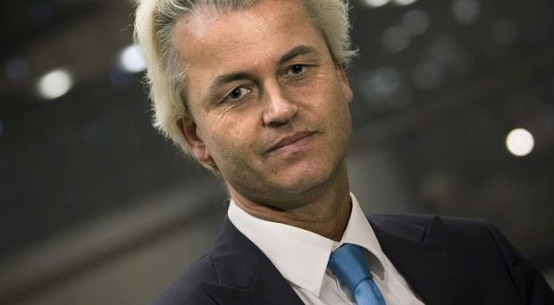 Geert Wilders is launching an international 'freedom alliance' to spread his anti-Islam message (AP)
