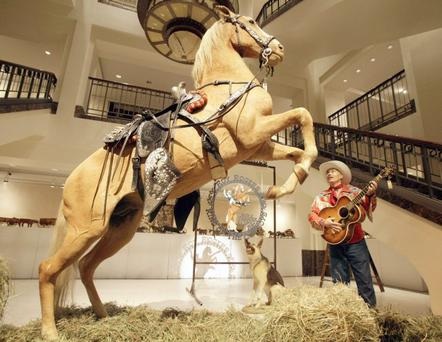 The preserved remains of Roy Rogers' horse