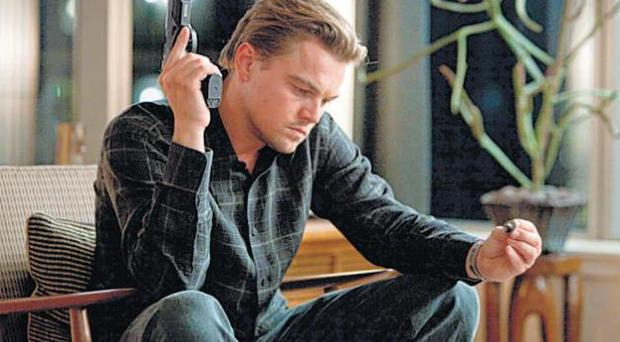 Shattered dreams: Leonardo DiCaprio in the puny sci-fi thriller Inception
