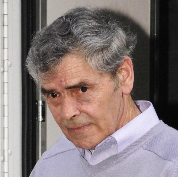 Police are digging up the basement of a house where Peter Tobin lived