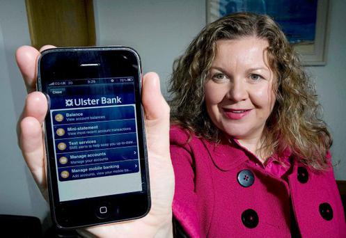 Popular: Glynis has been amazed by the bank's iPhone App success, with thousands of new customers signing up for the service