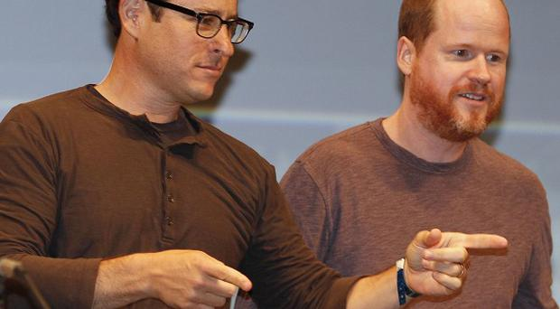 JJ Abrams and Joss Whedon at Comic-Con (AP)