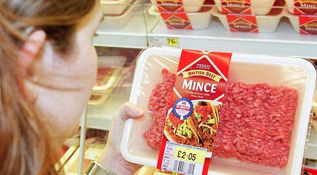 'Lean' minced beef can have up to 25 per cent more fat in than regular minced beef, a study has found