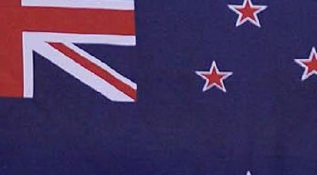 A New Zealand teenager has survived a 16-story plunge from the balcony of his family's apartment onto a concrete floor