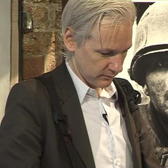 WikiLeaks founder Julian Assange answers questions following the leak of tens of thousands of secret files about the war in Afghanistan.