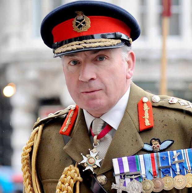 Former Army chief General Sir Richard Dannatt