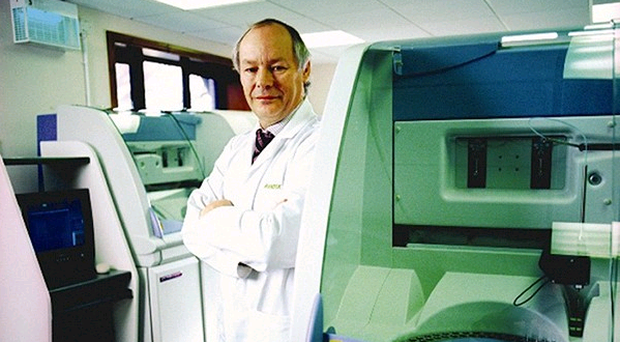 Dr Peter Fitzgerald, managing director of Randox Laboratories, is a previous winner