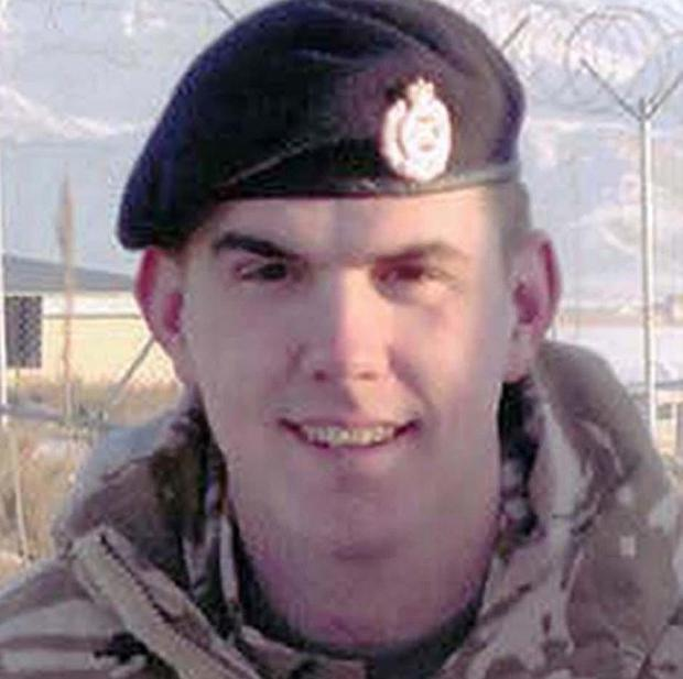 Sapper Mark Antony Smith, from 36 Engineer Regiment, has been killed in a suspected 'friendly fire'