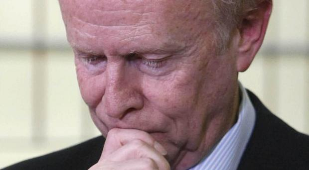 Sir Reg Empey has held talks with Secretary of State Owen Paterson on dealing with the legacy of the Troubles