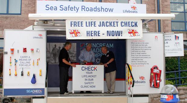 Sail safe: The RNLI check on lifejackets uncovered serious problems
