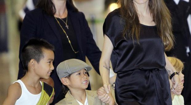 Angelina Jolie brought four of her children to Tokyo