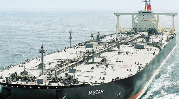 An explosion, suspected to be an attack, has damaged the Japanese oil tanker M. Star