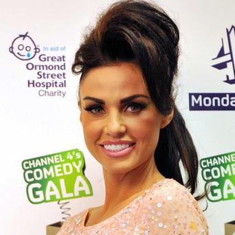 Katie Price says she will keep on singing