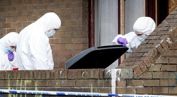 Flats where Frank McGreevy was murdered in West Belfast are to be demolished
