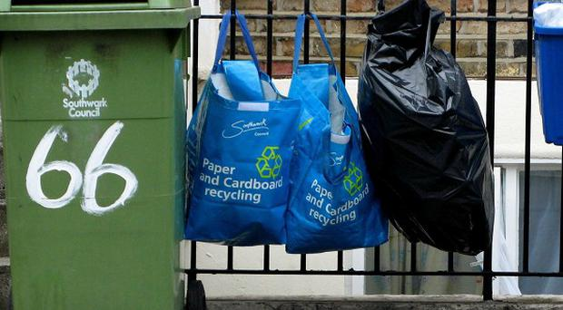 A Government review will look for ways to cut the number of wheelie bins and containers