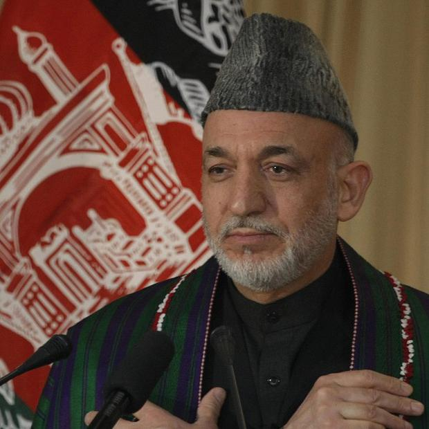 Afghanistan President Hamid Karzai says the lives of citizens who helped international forces have been endangered by a US documents leak