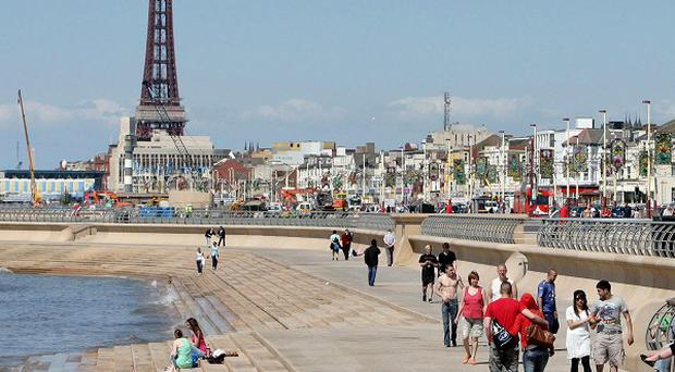 A 14-year-old boy who drowned off the coast of Blackpool has been named as Michael Sheehan, of Northampton