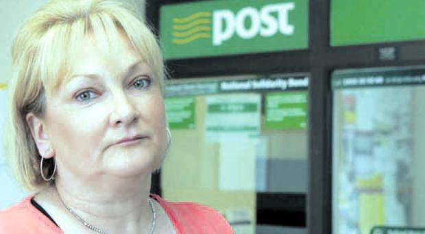 Devastated: Bernie Moore lost her job after Carrigans post office was robbed