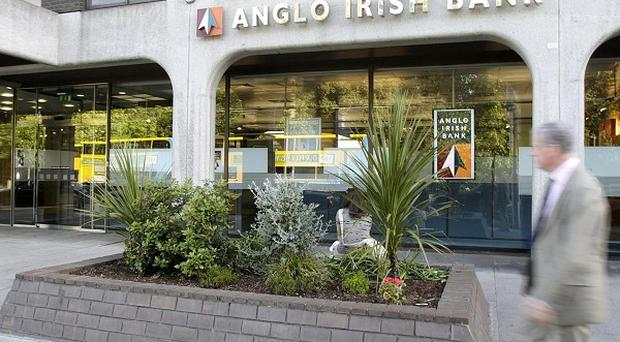 Anglo Irish Bank is to take control of Dublin department store Arnotts.