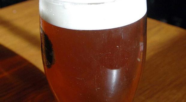 Beer sales are up for the first time in four years, figures show