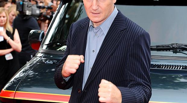Liam Neeson stars as Hannibal in A-Team movie