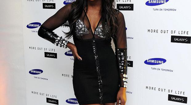 Alexandra Burke was spotted out with Danny Cipriani