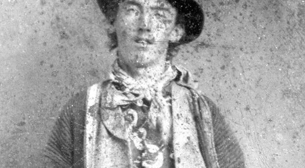William Bonney, also known as Billy the Kid, circa 1880 (AP)