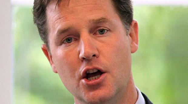 Supprot for the Lib Dems, and leader Nick Clegg, has fallen