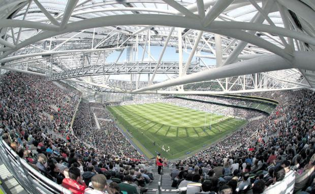 Aviva stadium: level of alertness will be at an 'absolute maximum'