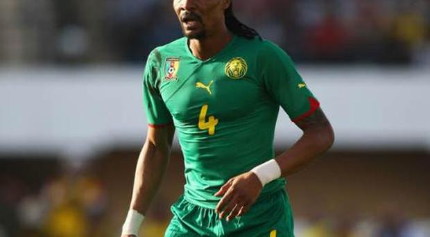 <b>RIGOBERT SONG</b><br/> <b>Age: </b>33 <br/> <b>Club:</b> Trabzonspor <br/> <b>Country:</b> Cameroon <br/> A key player for his country for over a decade, Song is the most capped player ever for Cameroon with 135 caps. The former Liverpool and West Ham United defender is still playing regularly. After moving from his club first club in Cameroon, Song had spells in France and Italy before his four years in the English top flight. His career had a new lease of life in Turkey after settling down with Istanbul giants Galatasaray. Song now plays at Trabzonspor where he is nicknamed by the fans there 'Big Chief'.