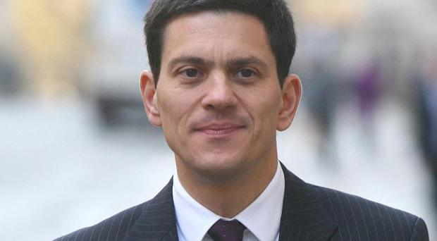 David Miliband has hit out at David Cameron over his comments about Pakistan