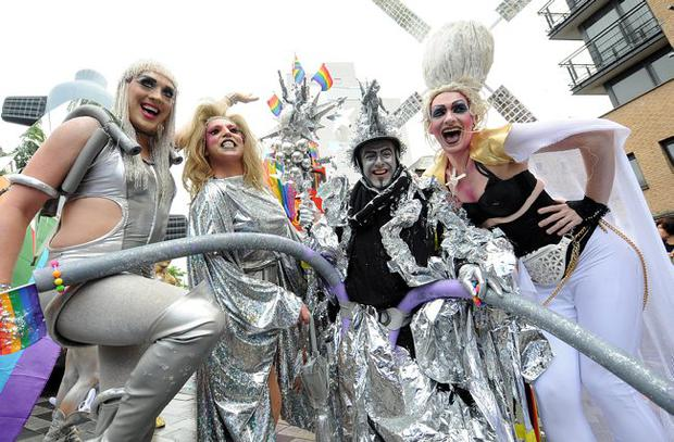 Belfast Gay Pride Parade, July 2010