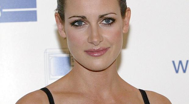 Kirsty Gallacher has revealed how she embarked on a quest for her perfect wedding dress
