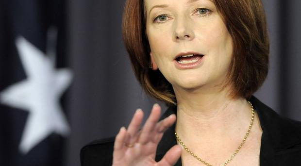 Australian prime minister Julia Gillard said she is changing her campaign strategy for re-election