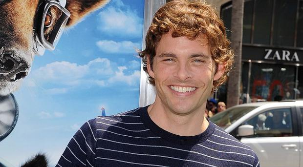 James Marsden voices a canine in his latest film
