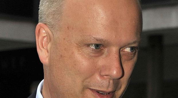 Chris Grayling said the ban will cover jobs such as lap dancers and strippers
