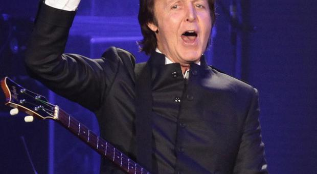 Sir Paul McCartney has offered a mix of his tunes to use on hit US show Glee