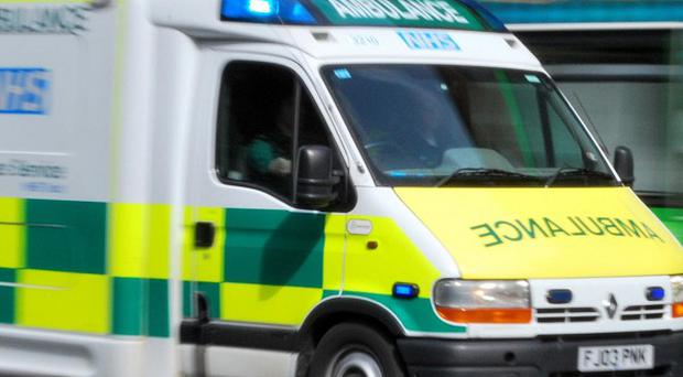 A three-year-old boy is in a critical condition following a road accident