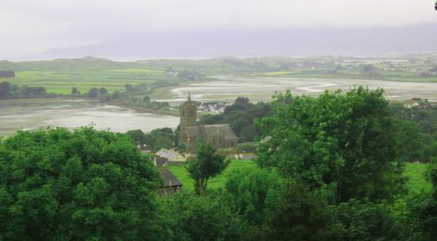 <b>Readers' Pictures: Ulster beauty spots</b><br>View form Dundrum Castle</br>
