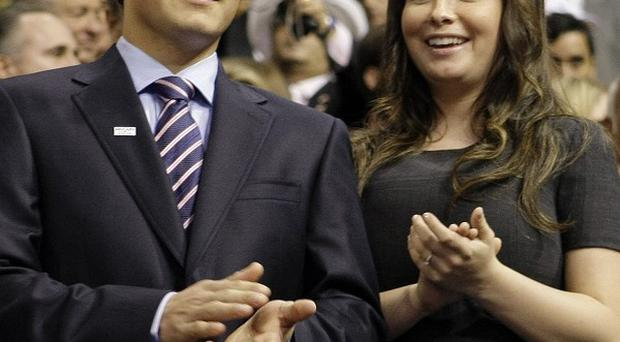 Bristol Palin has split from Levi Johnston for a second time (AP)