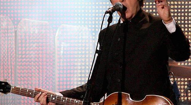 Sir Paul McCartney is reportedly an admirer of the hit US show Glee