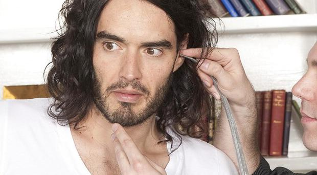 Russell Brand wants his ladykiller reputation to live on in his waxwork