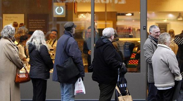 Britons have lost their love of queuing, according to research