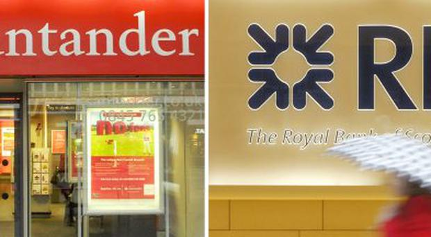 Royal Bank of Scotland has reached a deal to sell 318 branches to Spanish banking giant Santander